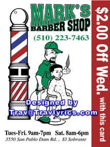 Marks Barbershop El Sobrante Ca